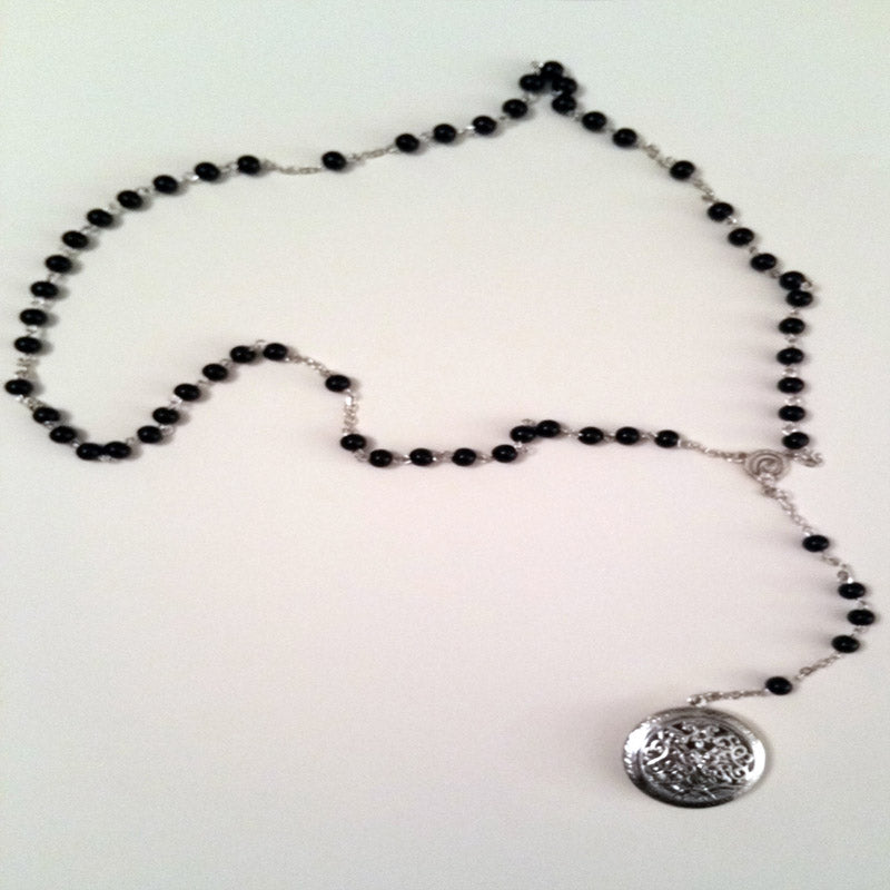 Tanis Root  rosary, Roman and Minnie