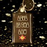 love is the Law key ring, Aleister Crowley, Roman and Minnie