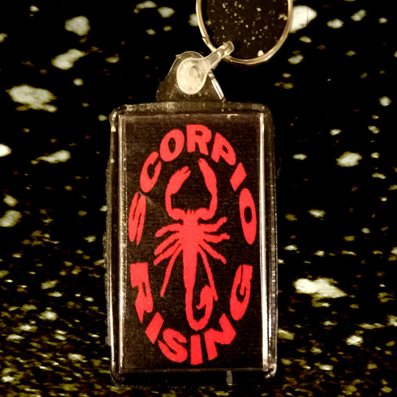 Scorpio Rising Key Ring , Kenneth Anger, Roman and Minnie