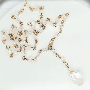 Swarovski Crystal Y Necklace