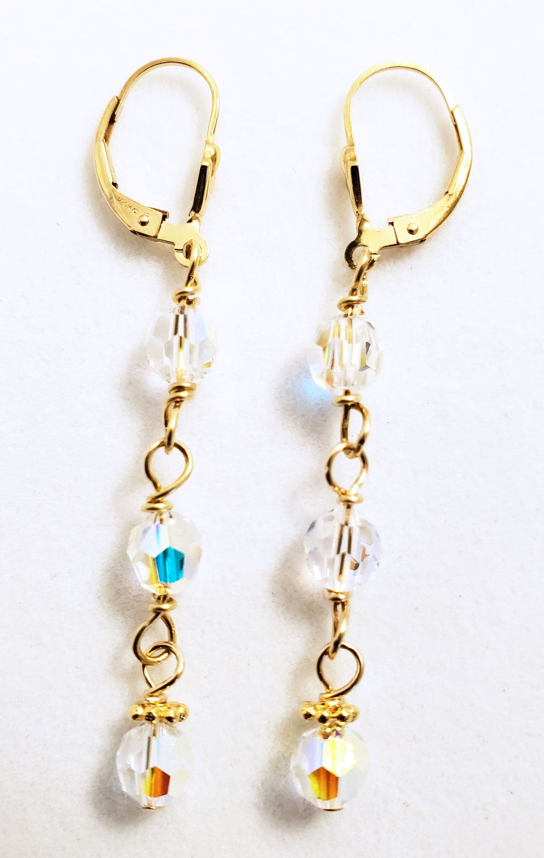 Swarovski Crystal Dangle Earring