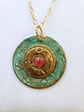 Veranda Medallion Necklace - One Of a Kind