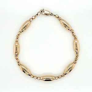 Sleek Golden Arm Candy