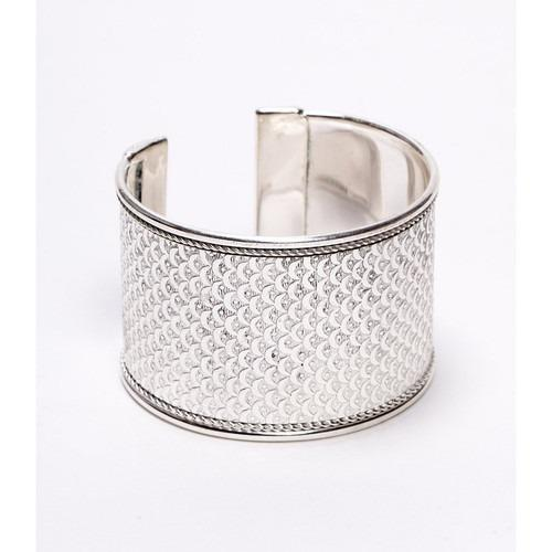 Art Deco Scallop Cuff