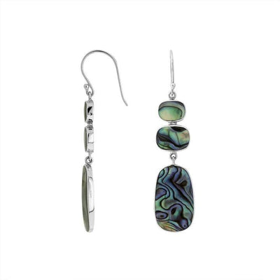 Bali Earring Collection - Abalone Shell, Coral Or Mother Of Pearl (Style 2)