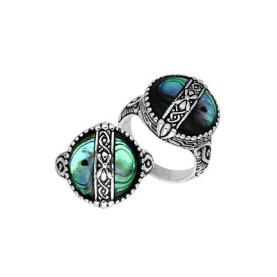 Bali Ring Collection - Abalone Shell (3 Styles)