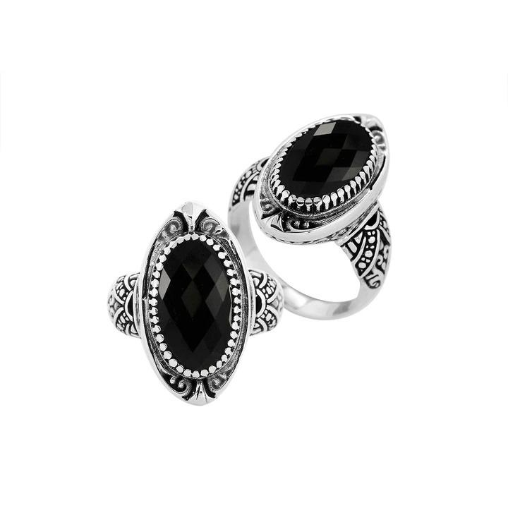Bali Ring Collection- Black Onyx (6 Styles)