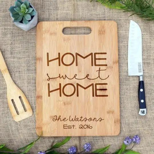Home Sweet Home Rectangular Board