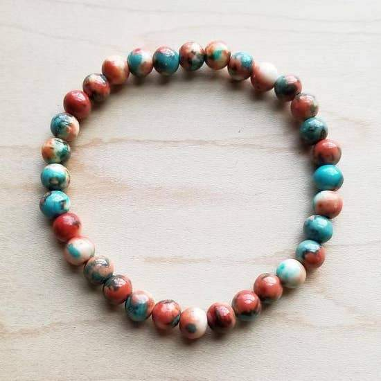 Multi-Colored Turquoise Bracelet