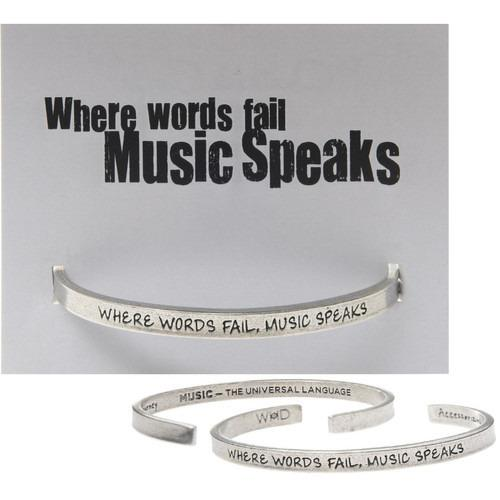 Music Quotable Cuffs (4 Options)