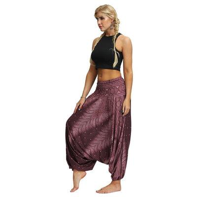 Pants & Capris - Boho Pattern Harem Pants