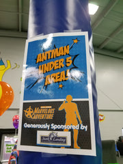 Stork Landing Super Hero Fundraiser