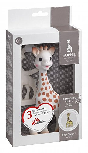 Sophie La Girafe + Teething Ring