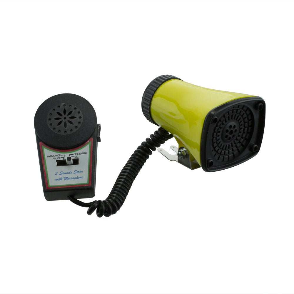Electronic Sire Horn with Microphone