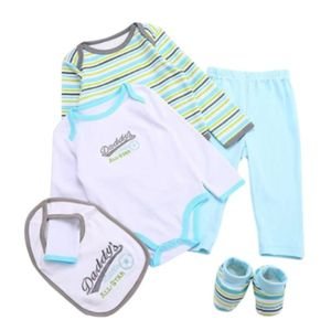 Little All-Star Onesie Set 5pc