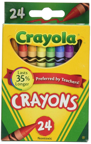 24 Pack of Crayons