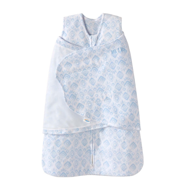 Sleep Sack Swaddle Blue Diamonds
