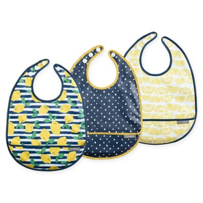 JJ Cole Bib Set Lemon