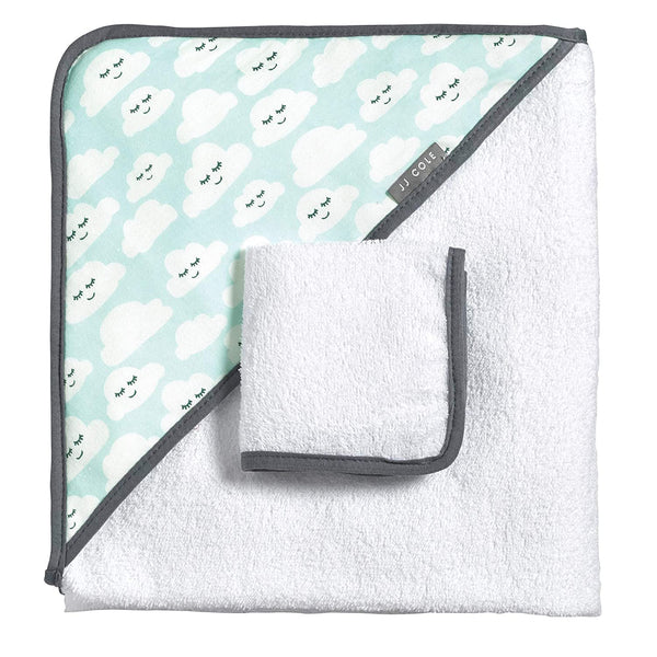 JJ Cole Hooded Towel Set