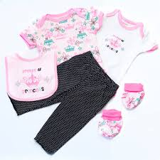 Little Princess Onesie Set 5pc