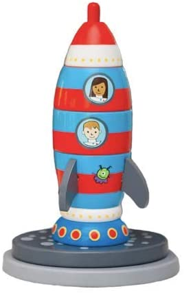 Jack Rabbit Creations, Stack and Play: Rocket-ship
