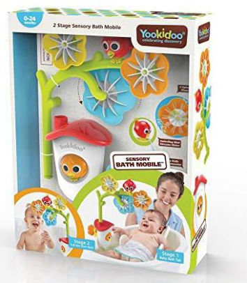 Yookidoo Sensory Bath Mobile in Packaging