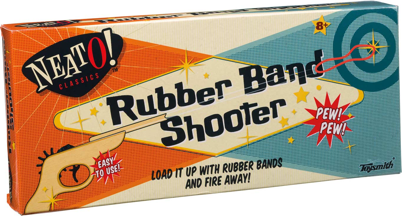 Neato Rubber Band Shooter