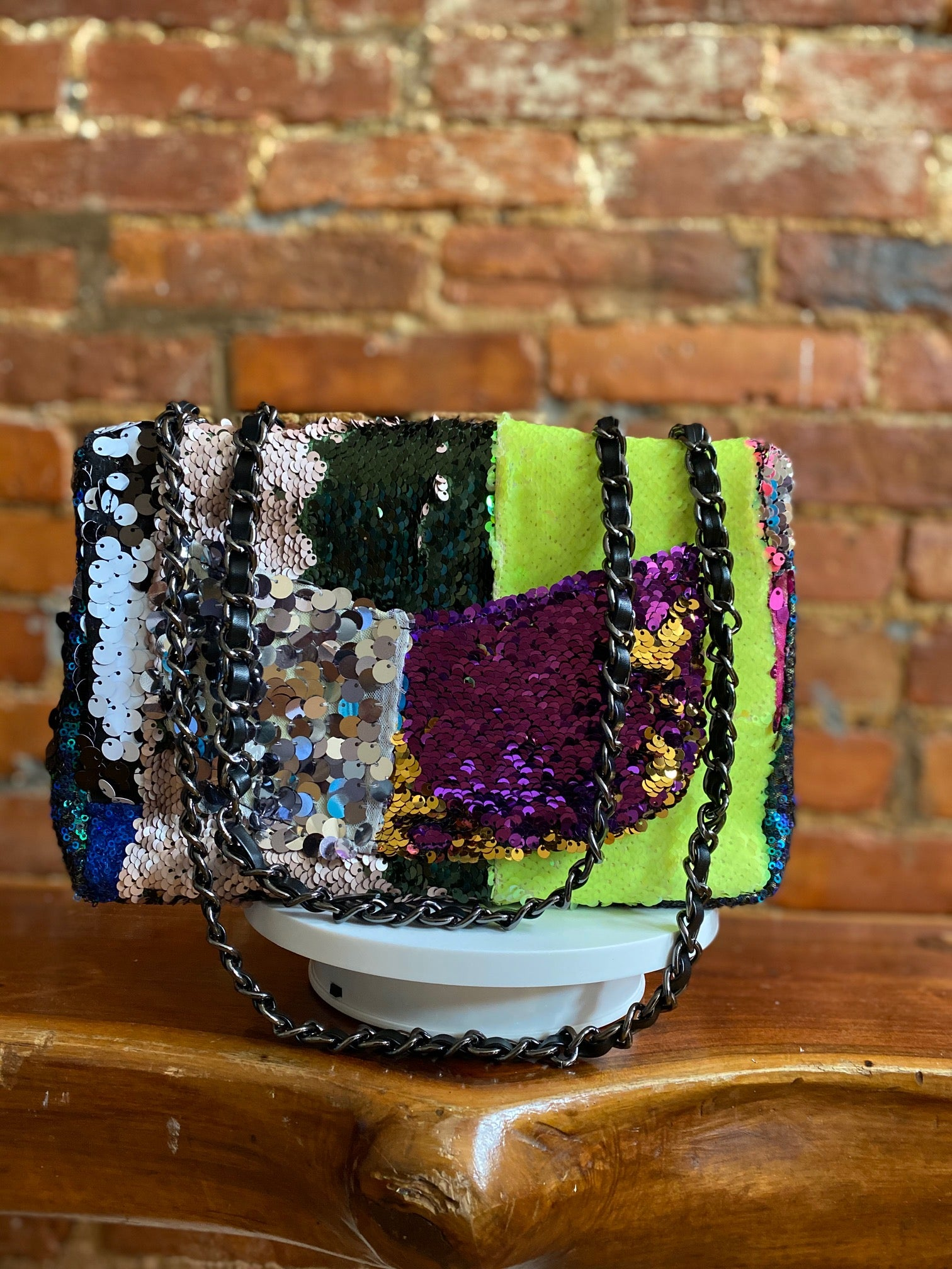 PEICES OF ME PATCHWORK 2.0 BAG