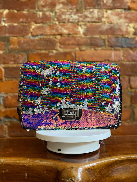 OVER THE RAINBOW CHAIN BAG