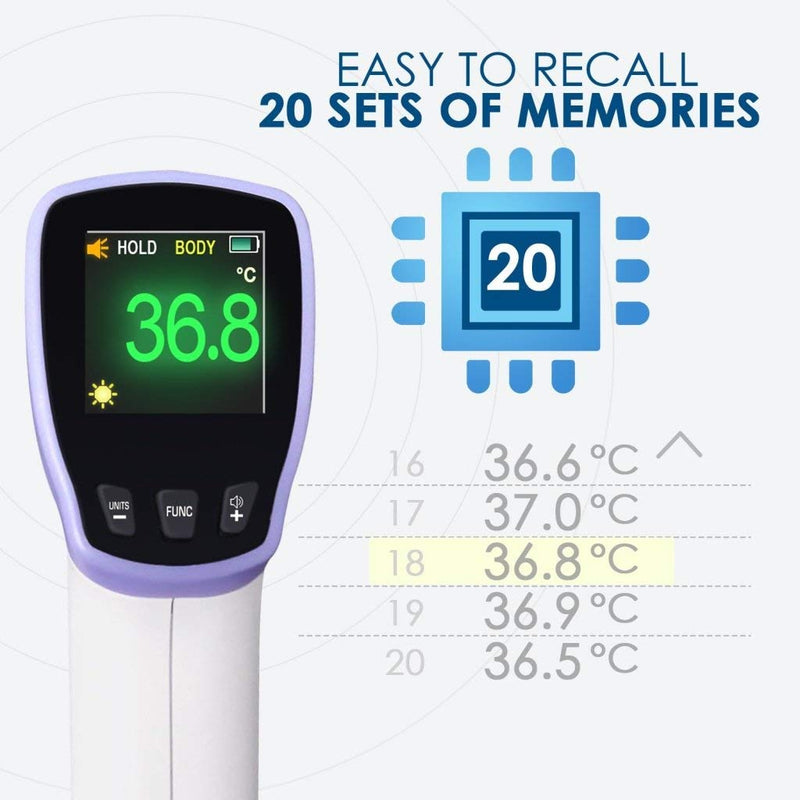HT20 Pro Non-Contact Infrared Thermometer