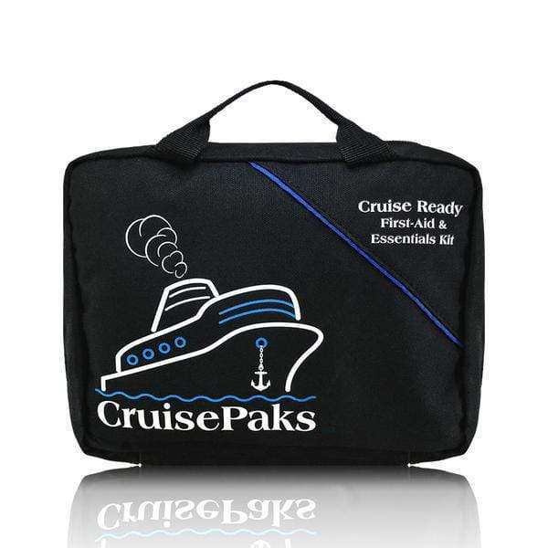 CruisePaks Cruise Ready First-Aid and Essentials Travel Kit - 150 Pieces CruisePaks
