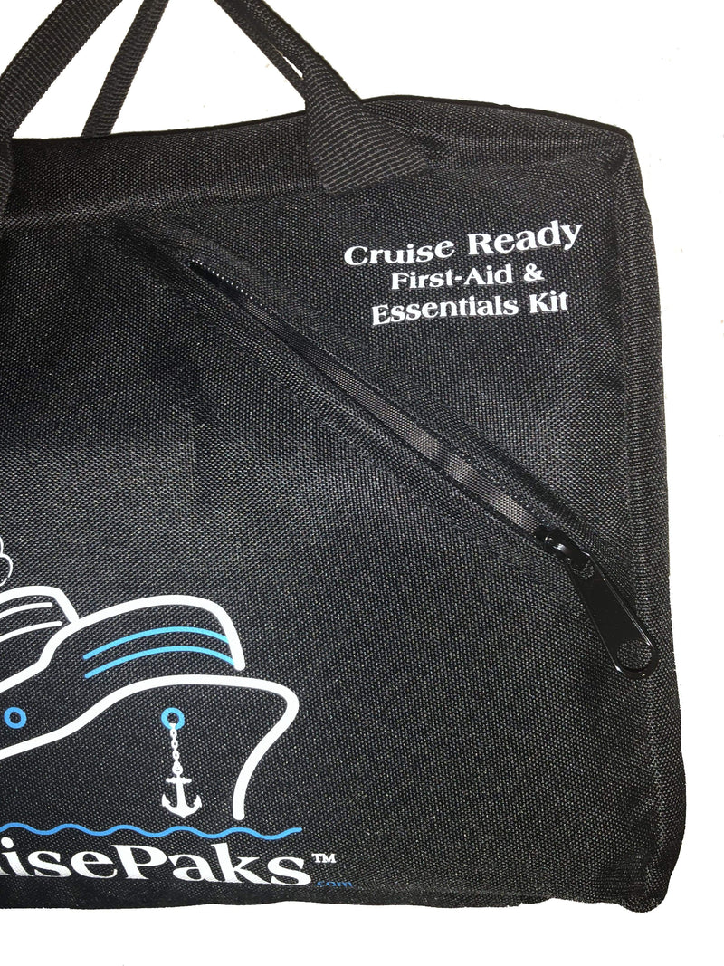 CruisePaks CruisePaks Cruise Essentials First aid & Medicine Travel Kit | Deluxe - ** Bag Only ** CruisePaks