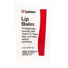Safetec Lip Balm, Pomegranate Flavored CruisePaks