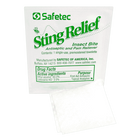 Safetec Sting Relief, Insect Bite Antiseptic & Pain Reliever CruisePaks