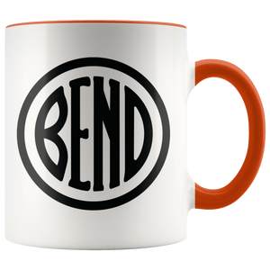 Bend Logo Ceramic Accent Mug Orange - The Northwest Store