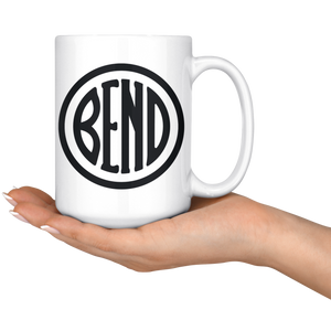 Bend Logo Large Ceramic Coffee Mug - The Northwest Store