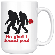 Load image into Gallery viewer, Sasquatch Love Large Ceramic Mug white - The Northwest Store