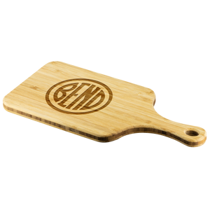 Bend Logo Cutting Board With Handle - The Northwest Store