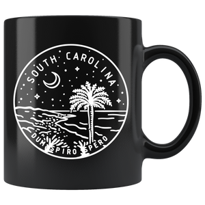 State of South Carolina Coffee Mug