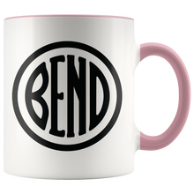 Load image into Gallery viewer, Bend Logo Ceramic Accent Mug Pink - The Northwest Store