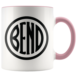 Bend Logo Ceramic Accent Mug Pink - The Northwest Store