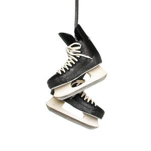Pair Black Hockey Skates