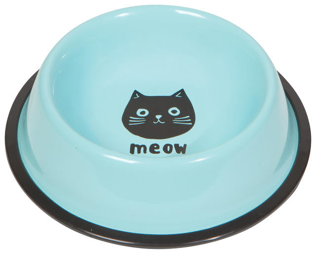 Cat  Bowl Cats Meow
