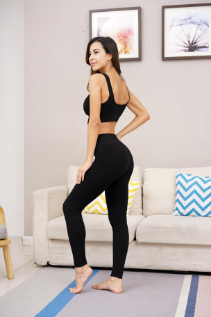 plus bamboo high band leggings