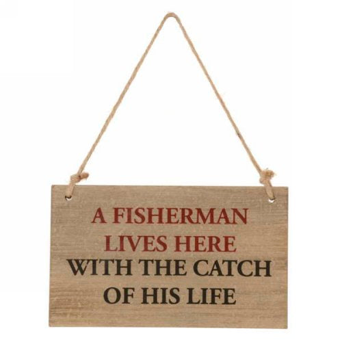 A Fisherman Lives Here With The Catch Of His Life