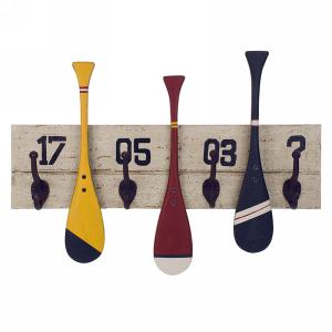 Oars Wall Hook X4