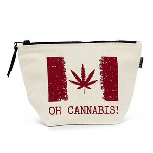 "Oh Cannibis Pouch 7X10.5 ""L"
