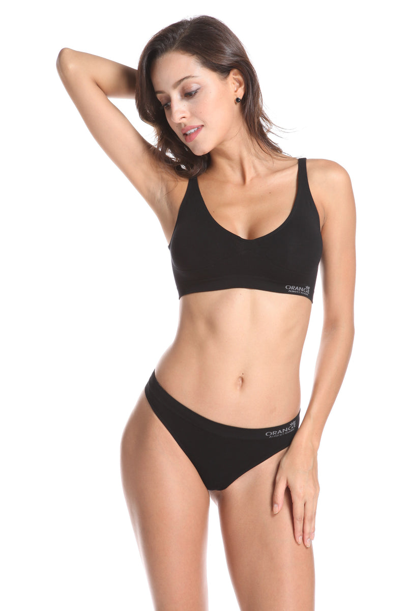 bamboo shaper crop bra