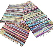 "spectrum rag rug, multi, 20"" x 32"""