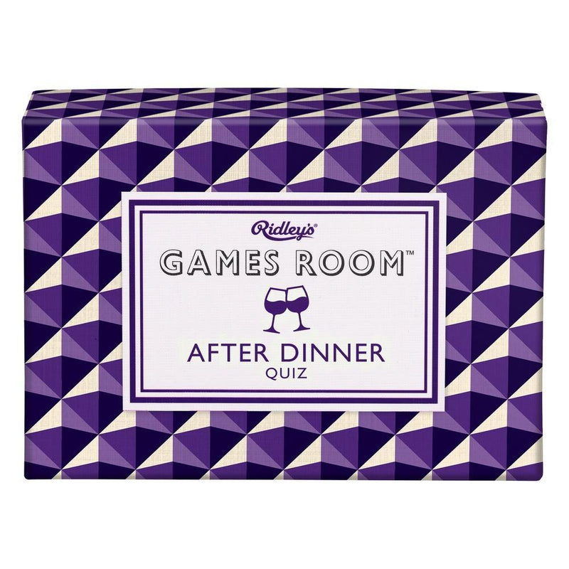 After Dinner Quiz Games Room